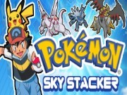 Pokemon Sky Stacker Game